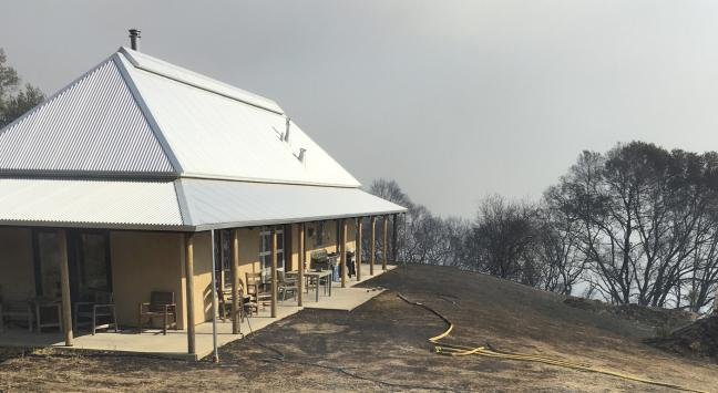 Strawbale and Earth Projects Survive North Bay Wildfires | Arkin ...