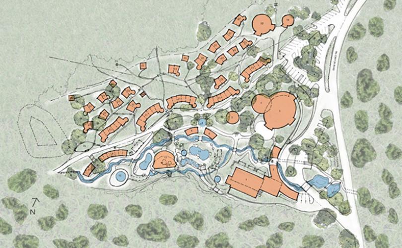 Avalon Springs site plan