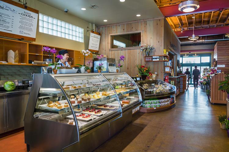 el cerrito natural grocery display