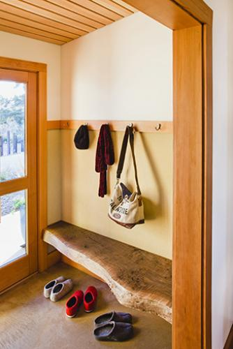 Idea Garden mudroom