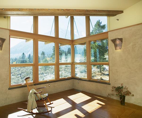 eastern sierra living room