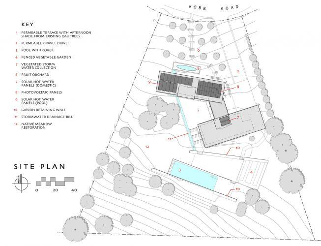 courtyard site plan