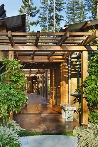 vine hill residence entry