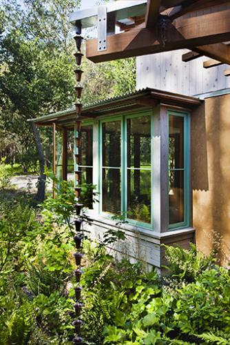 vine hill residence window